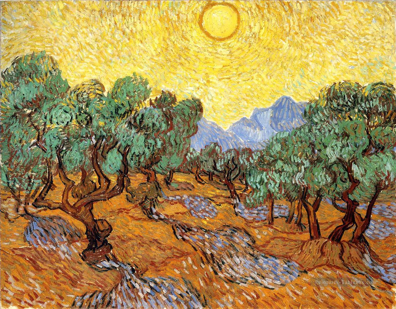 45-Oliviers.ciel.jaune.et.soleil.van-Gogh