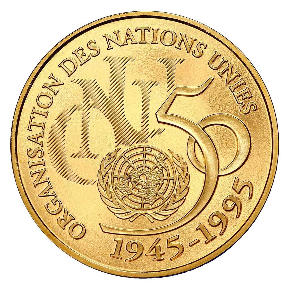 5 francs ONU Or